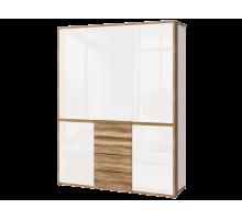 Николь-Люкс (01) шкаф для одежды 3-х дв