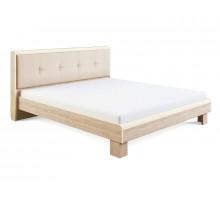 Оливия Модуль 2.2 Кровать с мягкой спинкой 1,6, без ортопеда, без матраса