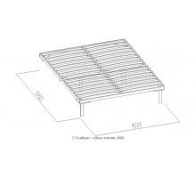 Основание универсальное с гибкими ламелями (1600), металл