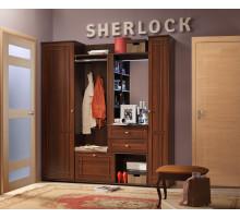 Прихожая Sherlock (Шерлок), Орех шоколадный. Компоновка 2