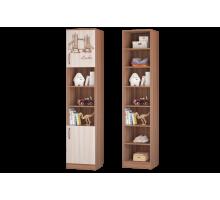 Шкаф для книг с 2 дверками Вояж
