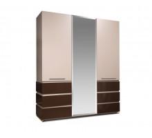 Шкаф для одежды 3Д Хилтон КМК 0651.8