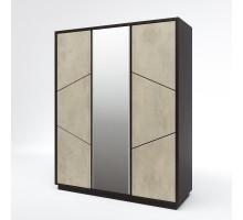 Шкаф для одежды 3Д Нирвана КМК 0555.7