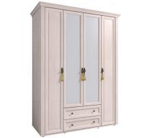 Шкаф для одежды и белья 2 с карнизом MONTPELLIER, дуб