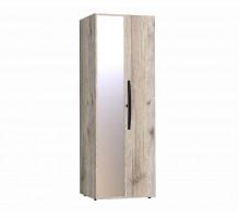 Шкаф для одежды с фасадами Стандарт+Зеркало Nature 54 гаскон