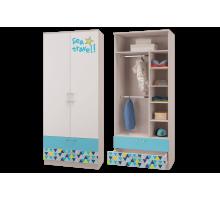 Шкаф для одежды с ящиками Джимми