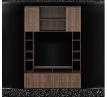 Шкаф комбинированный ШармКМК 0722.8, орех донской/орех экко