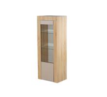 Шкаф с витриной 1Д Лондон КМК 0467.21