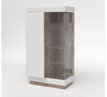 Шкаф с витриной 1Л Роксет КМК 0554.3