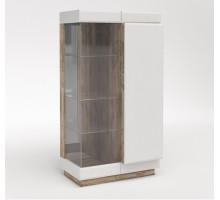 Шкаф с витриной 1П Роксет КМК 0554.4
