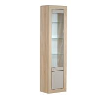 Шкаф с витриной 2Д Лондон КМК 0457.6