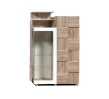 Шкаф с витриной Л Риксос КМК 0644.2