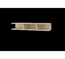 Скайлайн Полка с перегородкой (1200) дуб санома/графит