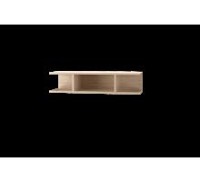 Скайлайн Полка с перегородкой (900) дуб санома/графит