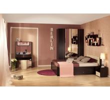 Спальня BERLIN (Берлин) Венге. Комплект 2