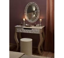 Спальня WYSPAA Стол туалетный с зеркалом+пуф. Комплект