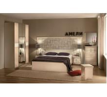 Спальня Амели Компоновка 1. Дуб отбеленный