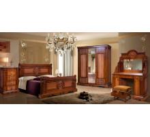 Спальня Амелия КМК 0435 (Орех)