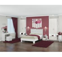 Спальня Белла Рамух белый. Комплект 1