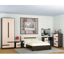 Спальня Гавана Комплект 1 (Дуб молочный)