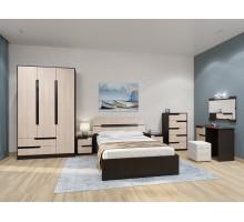 Спальня Гавана Комплект 5 (Дуб молочный)