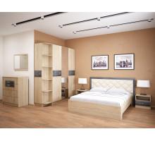 Спальня Мадлен. Комплект 1 (Дуб шале серебро)