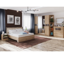 Спальня Мадлен. Комплект 2 (Дуб шале мореный)