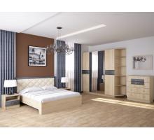 Спальня Мадлен. Комплект 2 (Дуб шале серебро)