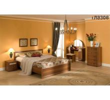Спальня Милана (Орех) Комплект 4