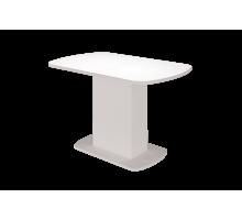 Стол обед. раздвижной Соренто-2 1103 мм (Белый глянец)