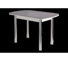 Стол обеденный Бостон-Ваниль 900х600ов. (мет.опора брифинг) беж.камео