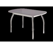 Стол обеденный Бостон Ваниль глянец 900х600ов. (опора триумф)