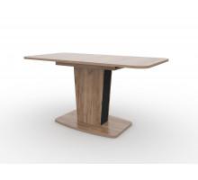 Стол обеденный раздвижной Киото-28 (Дуб табачный/Антрацит)
