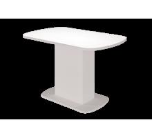 Стол обеденный Соренто (Белый глянец)