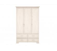 Венеция 1. Шкаф для одежды 3-х дв. с ящиками (без зеркала)