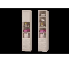 Верона Шкаф для книг с ящиками и дверкой
