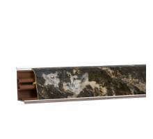 Вставка в плинтус (кромка с клеем)(Мраморный берег) 3м
